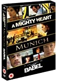 Babel / Munich / A Mighty Heart [DVD]
