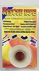 RESCUE TAPE Self-Fusing Silicone Tape (1&quot;, Clear)
