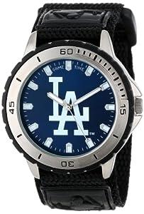 Game Time Men's MLB-VET-LA Veteran Custom Los Angeles Dodgers Veteran Series Watch