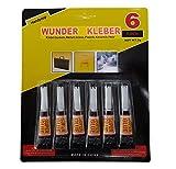 Handycop® 6er Set - Superkleber / Sekundenkleber - 6x 3g =...