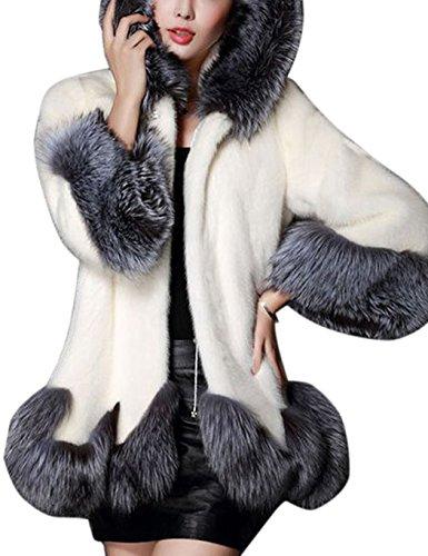 CRAVOG-2016-Mode-lgant-Manteau-de-Fourrure-Synthtique--Capuchon-Patchwork-Femmes-Pardessus-Outwear-Chaud-Avec-Poche
