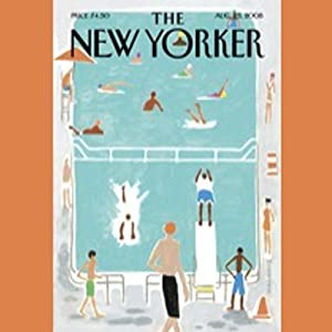 The New Yorker, August 25th, 2008 (Anthony Lane, Nick Paumgarten, Tobias Wolff) Periodical