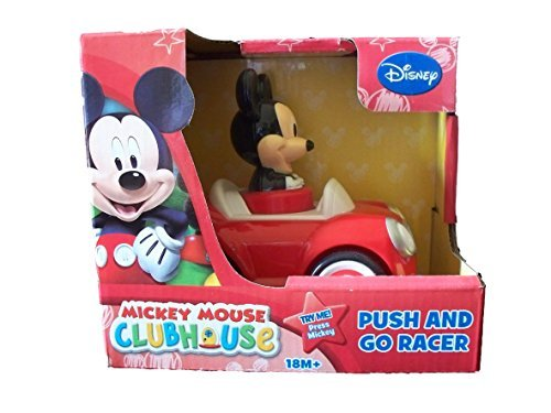 Disney Mickey Mouse Push and Go Racer Car - 1