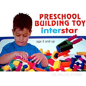 Interstar Links and Blocks Building Set Quantity: 50 Piece Set