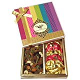 Chocholik Dryfruits Gift Box - Best Collection Of Rocks And Cocktail Dry Fruit - Diwali Gifts