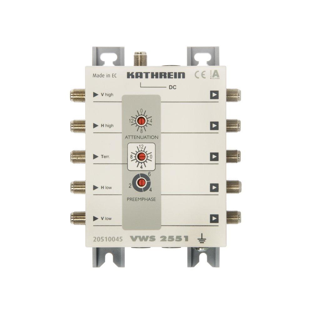 Kathrein VWS 2551 SATVerteilnetzverstärker  Kundenbewertung und weitere Informationen