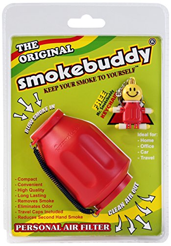Smoke Buddy Personal Air Filter - Red
