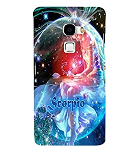 PRINTVISA Zodiac Scorpio Case Cover for LeTv LeMax