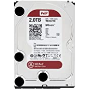 Amazon.com: WD Red 2 TB NAS Hard Drive: 3.5 Inch, SATA III, 64 MB Cache - WD20EFRX: Computers & Accessories