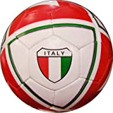 Indpro Unisex Team Football 5 Red Green