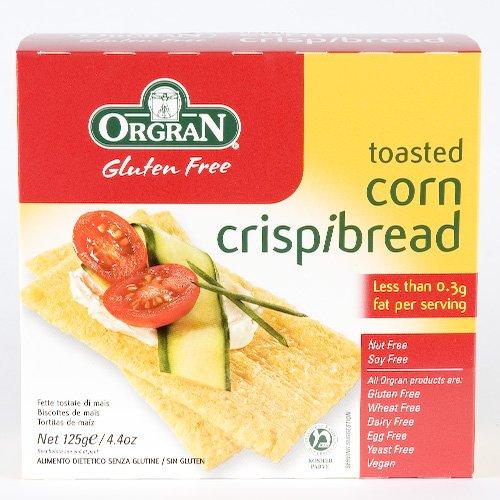 Orgran Corn Crispbread (125G) Gluten Free