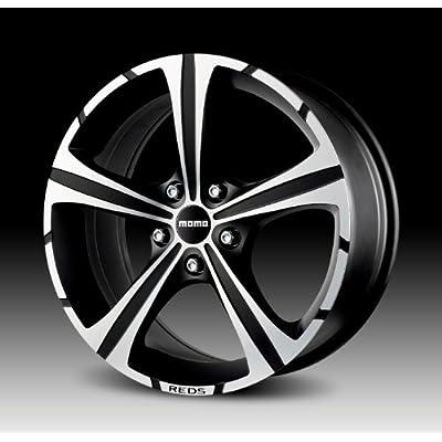 Amazon.com: Momo Black Knight Wheel with Matte Black Machined (16x7
