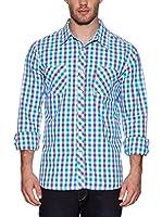 Urban Classics Camisa Hombre (Morado)