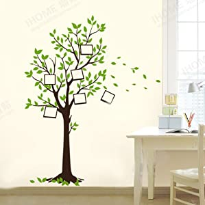 Wishing tree photo nursery kids room removable quote vinyl wall decals stickers from Bonamart