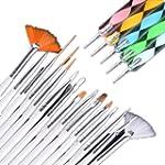 Ardisle 20pcs Nail Art Designing Pain...