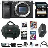 Sony a6300 Mirrorless Digital Camera Body Bundle (32GB Software Bundle)