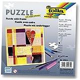 Hochzeitspuzzle Holzmosaik - PORTOFREI inkl. Hochzeitsbuch gratis - kreative Hochzeitsspiele zum Bemalen Set inkl. Farben und Pinsel - Holzpuzzle zur Hochzeit in Herzform oder mit Herz in der Mitte