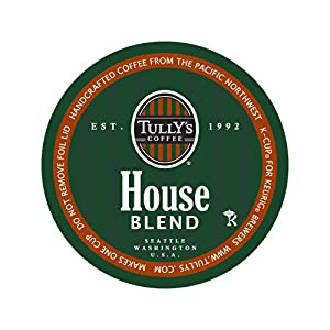 Tully's Coffee House Blend, 24-Count K-Cup for Keurig Brewers
