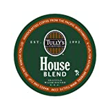 Tully's Coffee House Blend, 24-Count K-Cups for Keurig Brewers (Pack of 2)