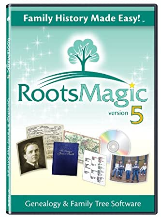 RootsMagic 5 Family Tree Genealogy Software