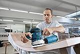 Bosch-Professional-Exzenterschleifer-in-L-BOXX-mit-Schleifpapier-150-mm-und-3-Schleiftellern-125-mm-150-mm-81-150-mm