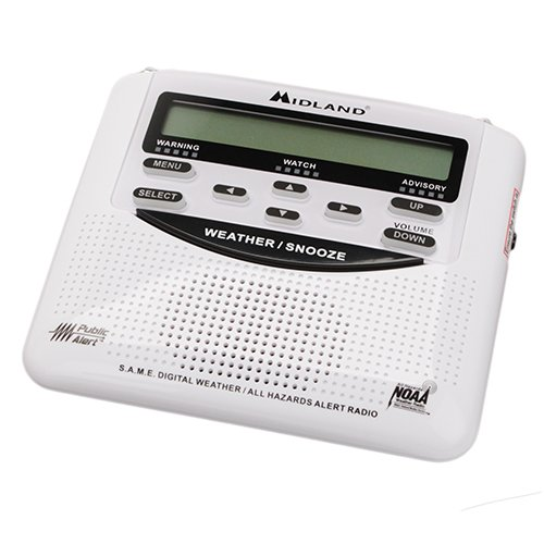 MROWR120B - Midland WR120 Desktop Weather Alert Radio