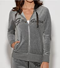 G by GUESS Women's Jubilee Velour Hoodie