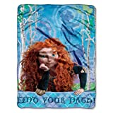 Disney, Brave, Forest Girl 46-Inch-by-60-Inch Micro-Raschel Blanket by The Northwest Company