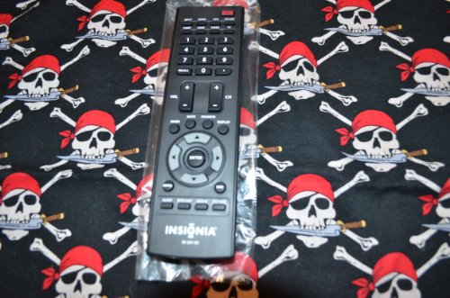New Insignia Lcd Tv Remote Control Rc-201-0A Supplied With Model Ns-Lcd37Hd-09 6010200102