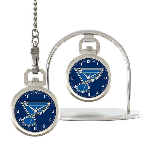 NHL Men's NHL-PW-STL Pocket Collection St. Louis Blues Pocket Watch