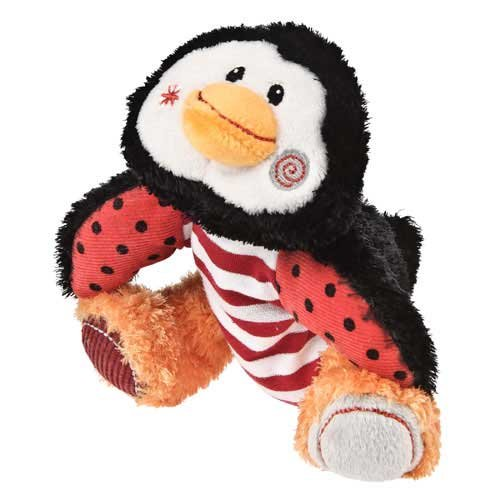 "Mary Meyer Holiday Cheery Cheeks Lil' Chills Penguin 6"" Plush Toy"