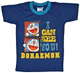 Eteenz Boys' Cotton T-Shirt (8_8-10 Years, Blue, 8-10 Years)
