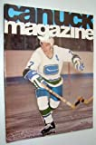img - for Vancouver Canuck Magazine, November 12, 1974 - Colour Cover Photo of Andre Boudrias book / textbook / text book