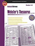 Webster's Thesaurus, Grades 4 - 8: Second Edition (Notebook Reference)