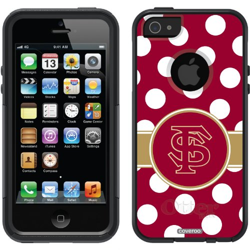 Special Sale Florida State Polka Dots design on a Black OtterBox® Commuter Series® Case for iPhone 5s / 5