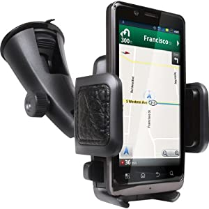 Universal Windshield/Air Vent Car Mount for Smartphones