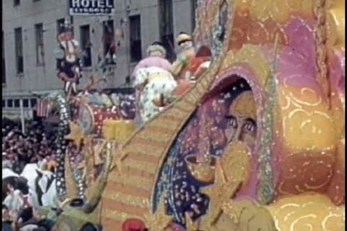 New Orleans History: Mardi Gras Parade of Krewe of Rex DVD (1941)