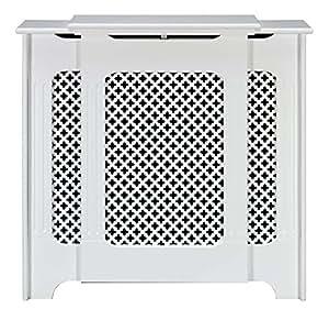 traditional classic satin white medium adjustable radiator. Black Bedroom Furniture Sets. Home Design Ideas
