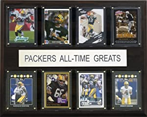 NFL Green Bay Packers All-Time Greats Plaque by C&I Collectables