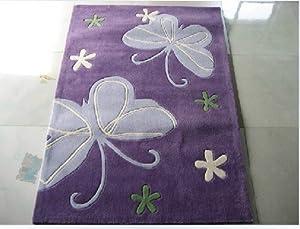 ... Carpet,Animal Print Carpet, Bedroom Floor Mats, Bed Rug,Butterfly Rug