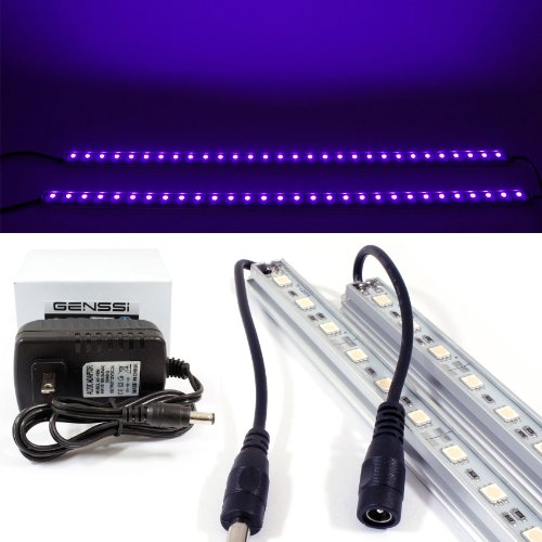 LED Black Light Blacklight Tube 50cm Strip UV