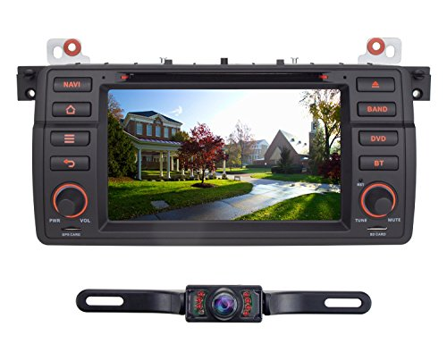 Volsmart Quad Core Android 5.1 Car GPS DVD for BMW E46 3 Series M3 with HD 1024*600 Capacitive Screen Stereo Radio