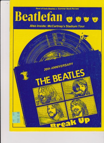 4 Beatlesfan Magazines At A Fantastic Price