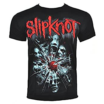 Slipknot Shattered T Shirt (Noir) - Small