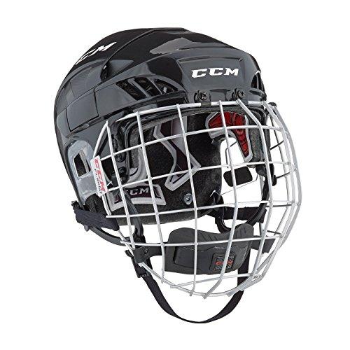 CCM FitLIte 60 Hockey Helmet Combo, Small, Black