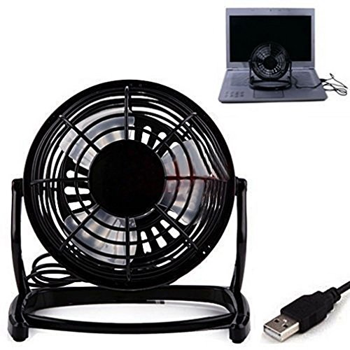 Notebook Laptop Computer Portable Super Mute PC USB Cooler Desk Mini Fan BE, NK. (Dyson House Fan compare prices)