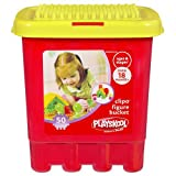 Playskool Clipo Figure Bucket [50 CLIP parts]