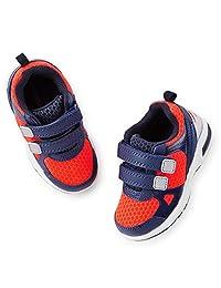 Carter's Little Boys' Light Up Sneakers - Blue/Orange - (10) Toddler