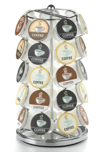 Nifty Carousel for 35 K-Cups, Chrome (Keurig Coffee Carousel compare prices)