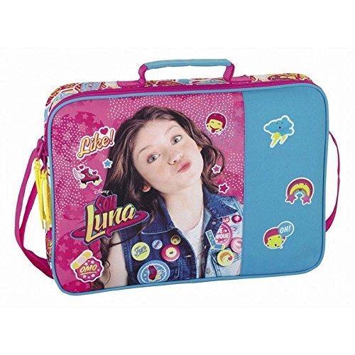 Soy Luna Cartera Extraescolares, Color Azul y Rosa
